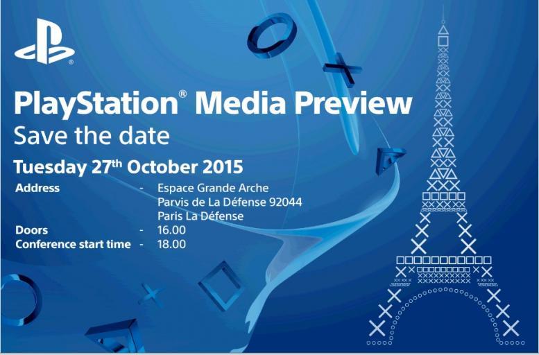 sony conferenza parigi 27 ottobre 2015