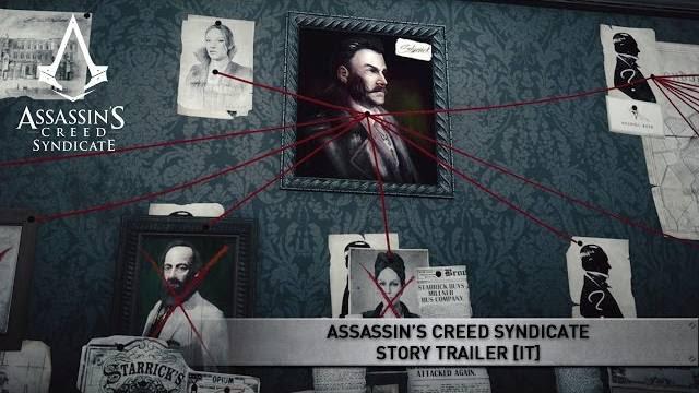 Assassin's creed syndicate trailer sulla storia