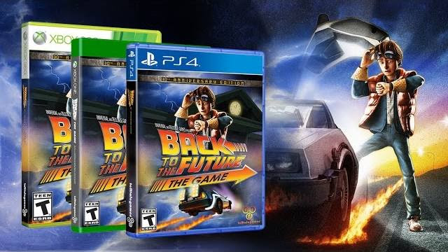Back to the future the game 30th anniversary edition trailer