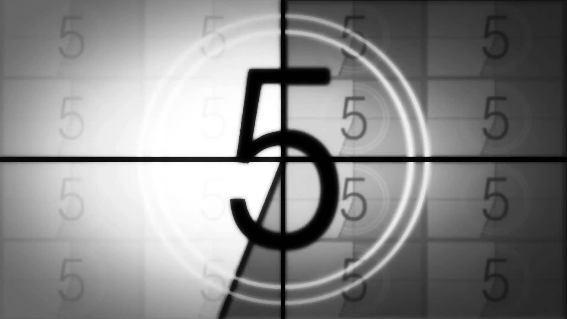 Cinque countdown
