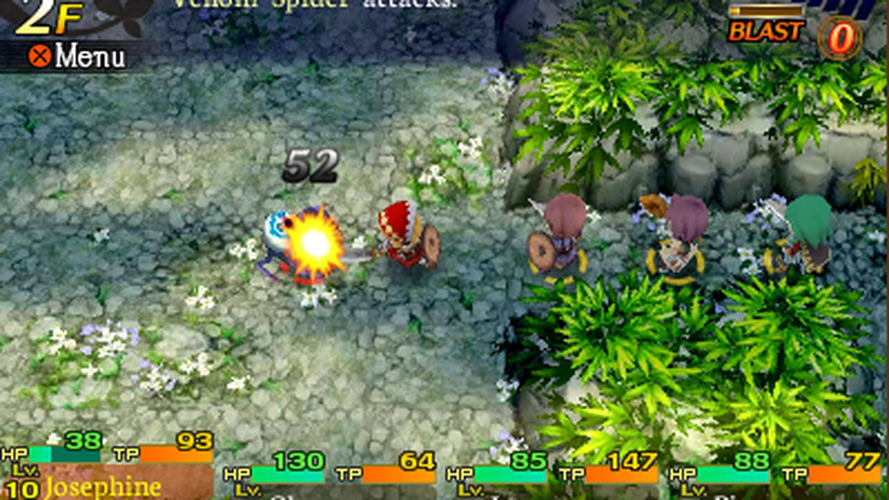 Etrian Mystery Dungeon approda su Nintendo 3DS