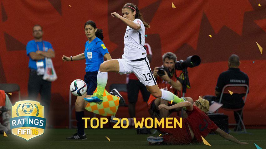 Fifa 16 Top 20 femminile