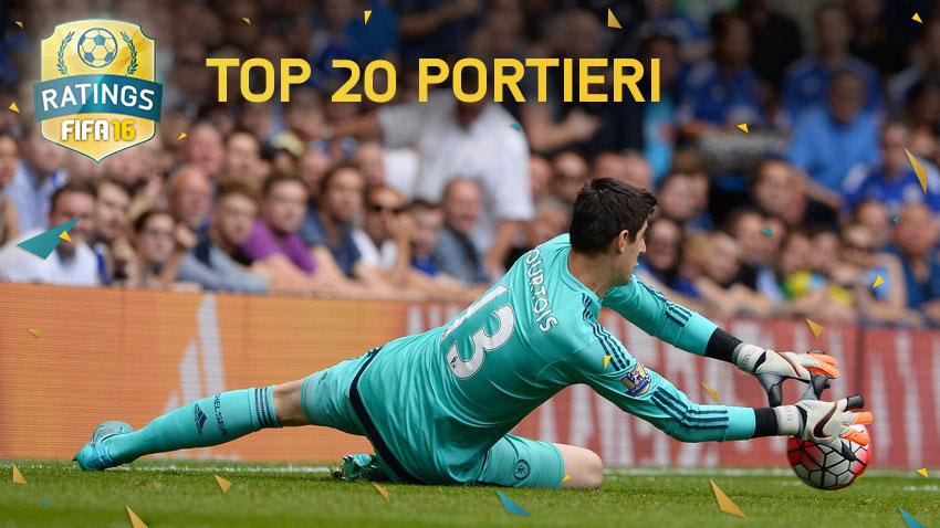 Fifa 16 top 20 portieri