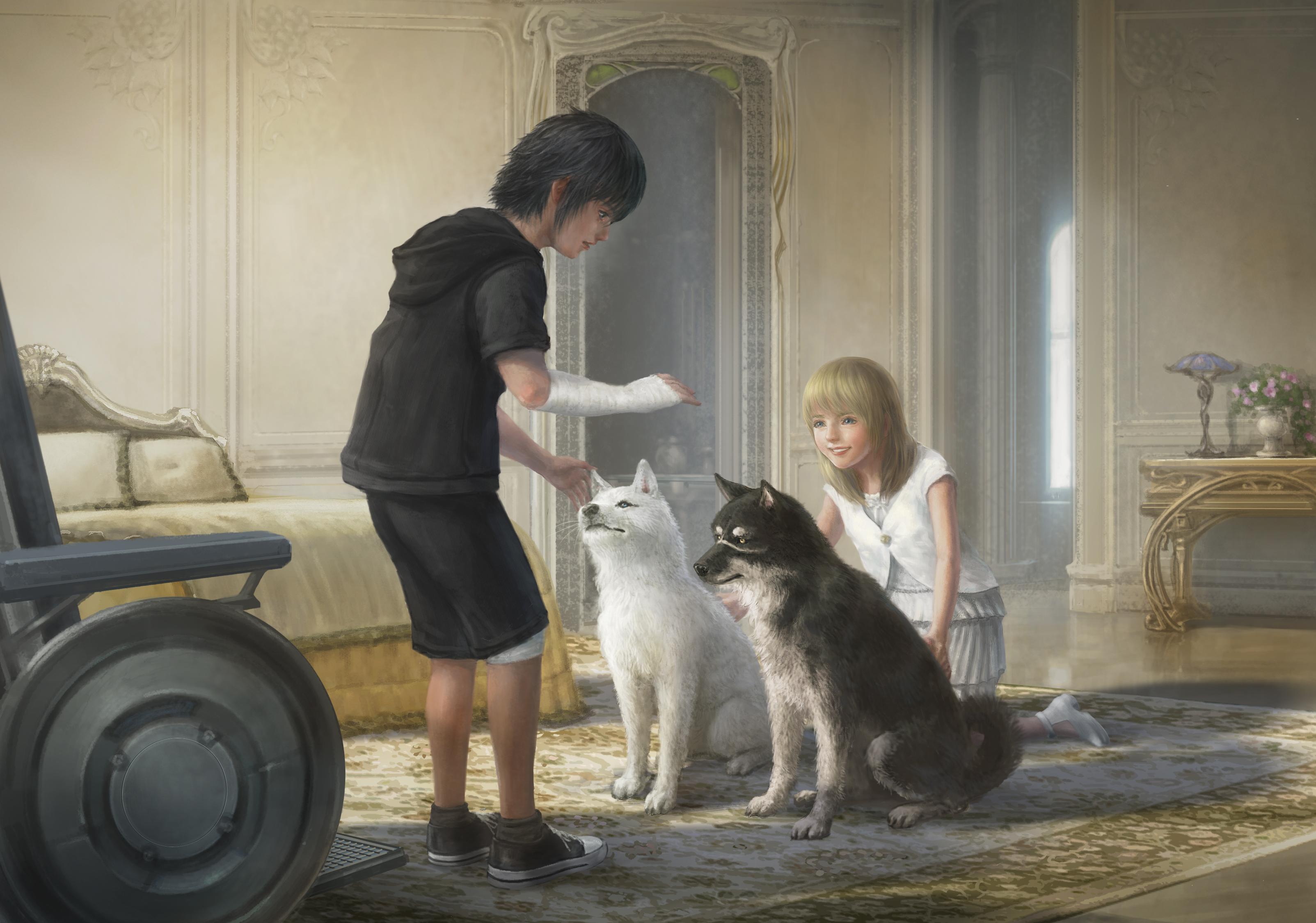 Final Fantasy XV artwork_LunaNoctis