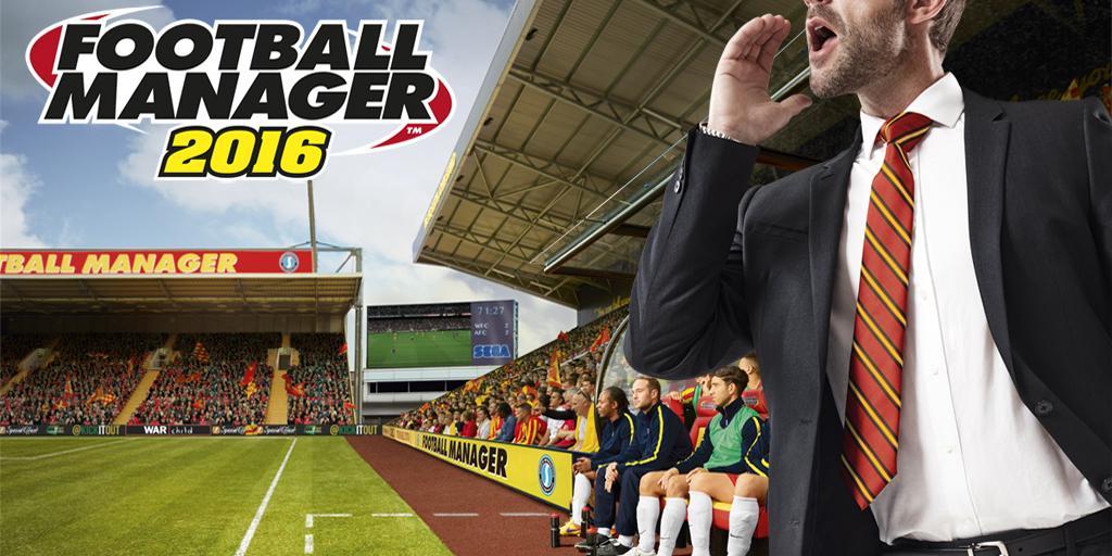 Football Manager 2016 header