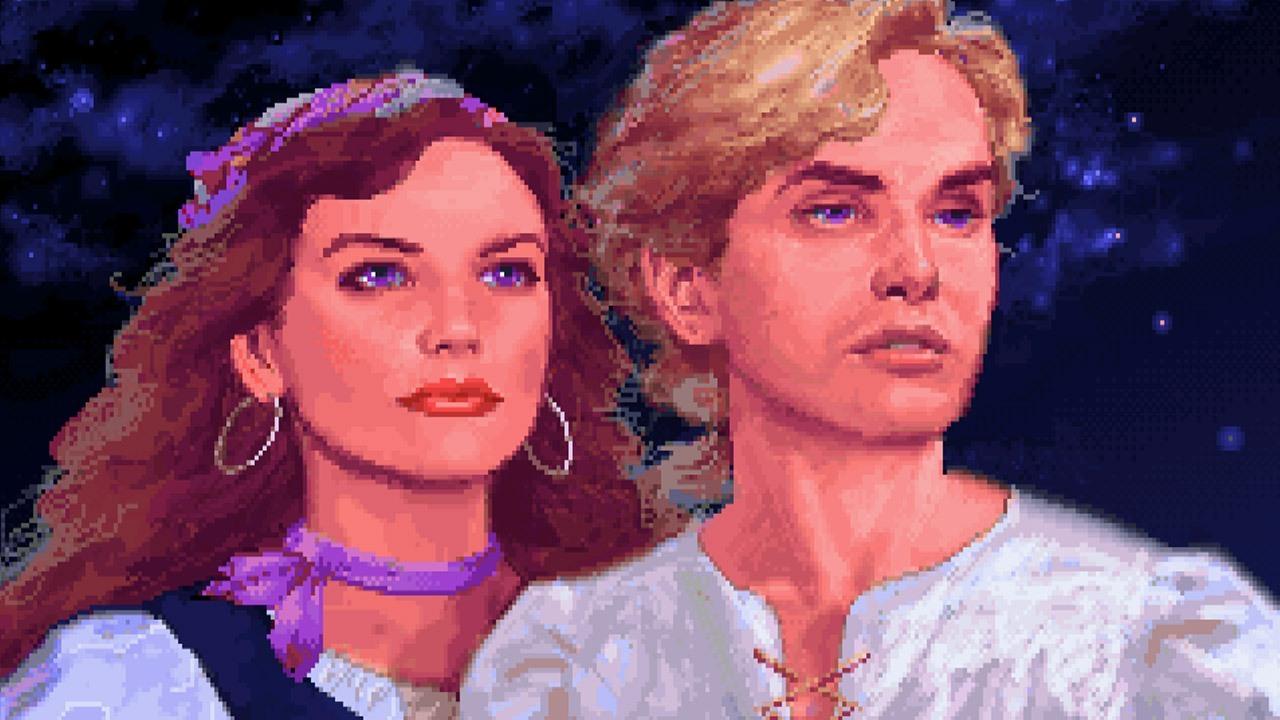 The Secret Monkey Island Elaine e Guybrush