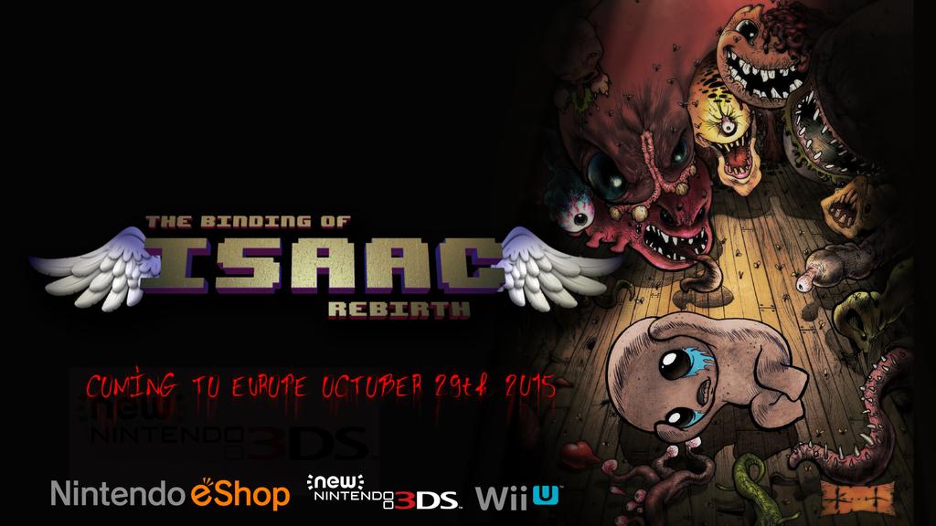 The binding of isaac Wii U e 3DS annuncio