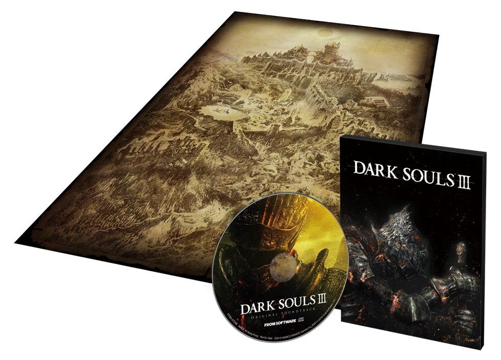 dark souls III contenuto edizione retail