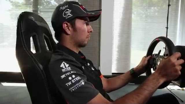 F1 2015 Sergio Perez