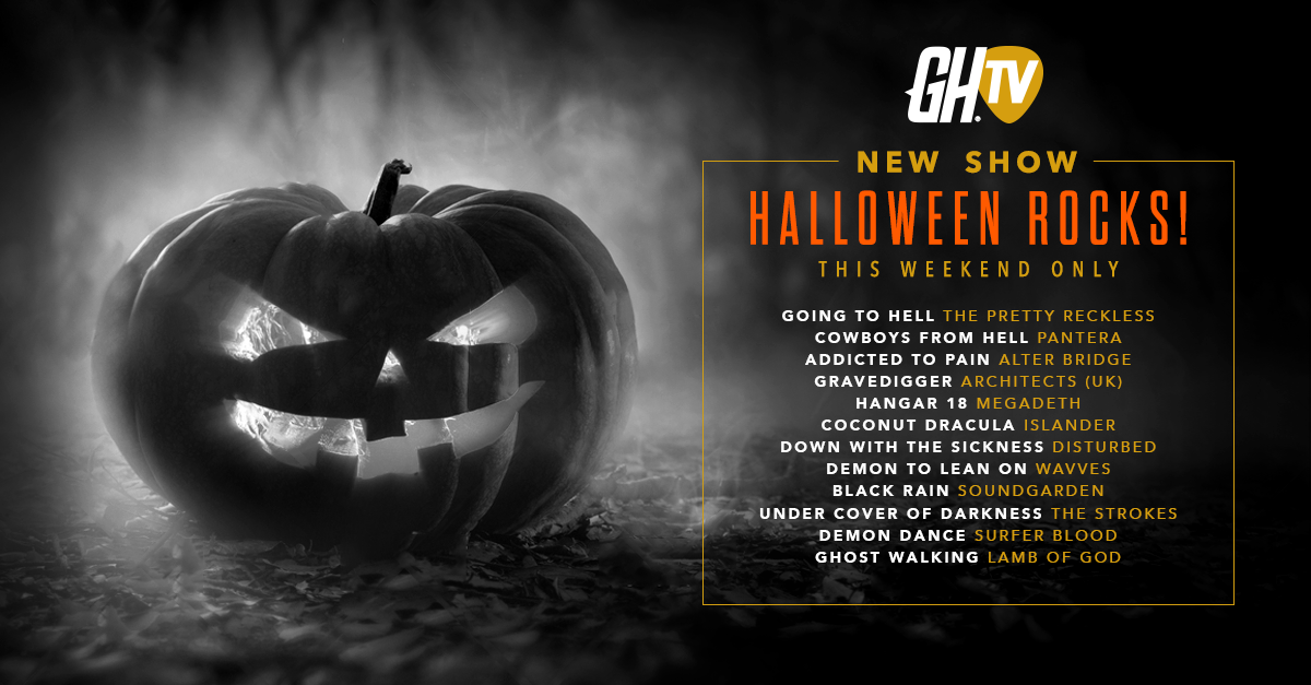 Guitar Hero Live_GHTV Hallowen Rocks show
