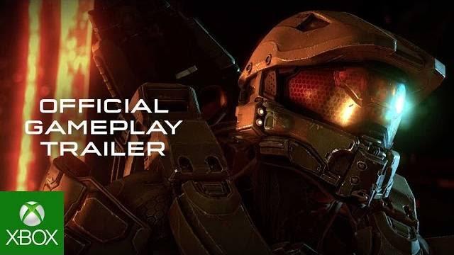 Halo 5 trailer di lancio