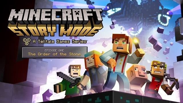 Minecraft Story Mode ep 1 trailer