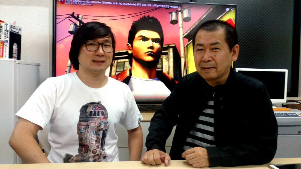 Noconkid e Yu Suzuki