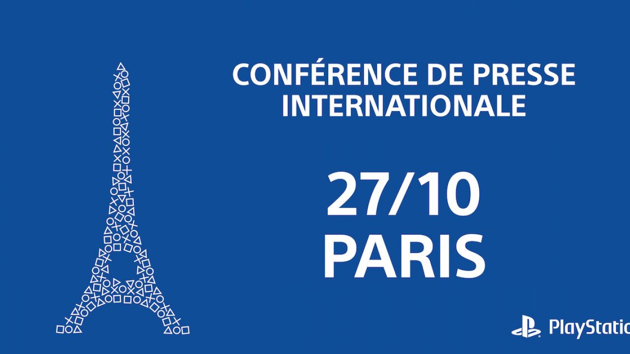 Paris Games Week 2015 Conferenza Sony