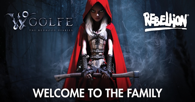 Woolfe The Redhood Diaries Rebellion