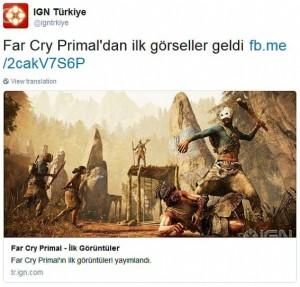 Si chiama Far Cry Primal il nuovo progetto di Ubisoft?