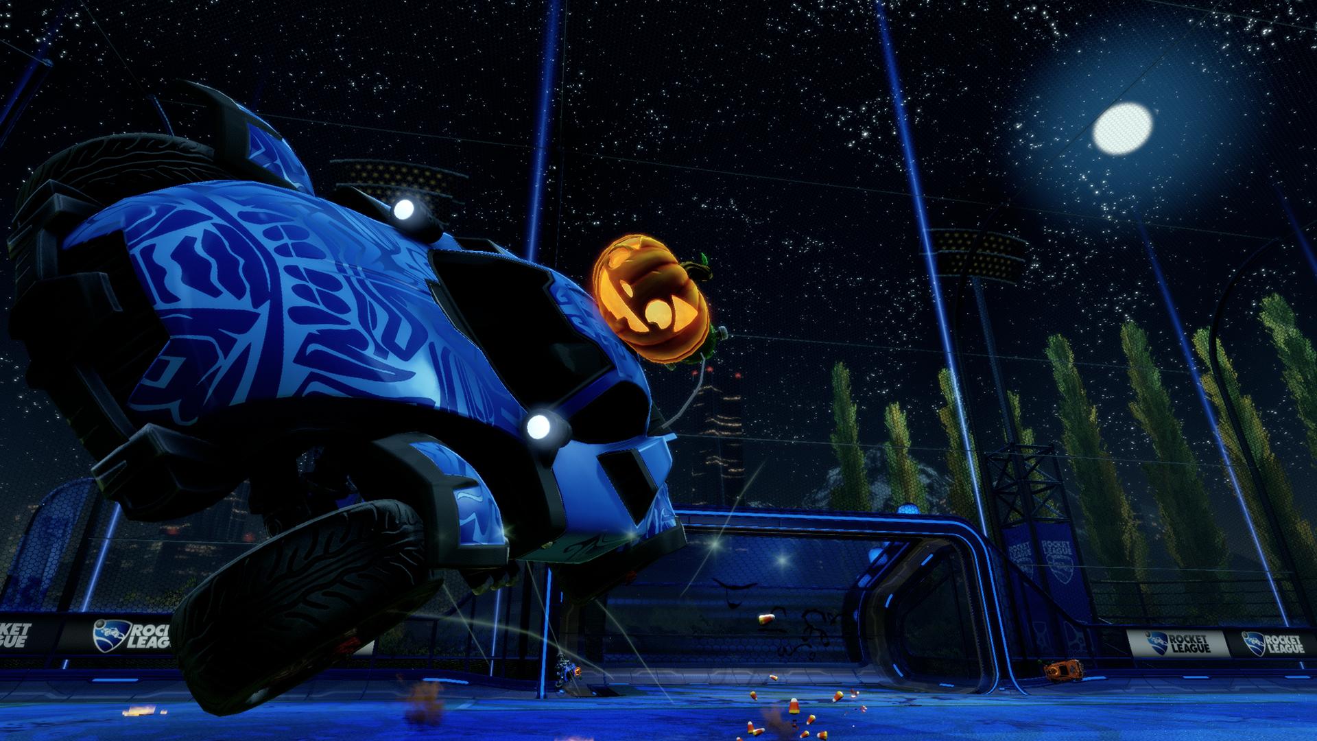 rocket league helloween