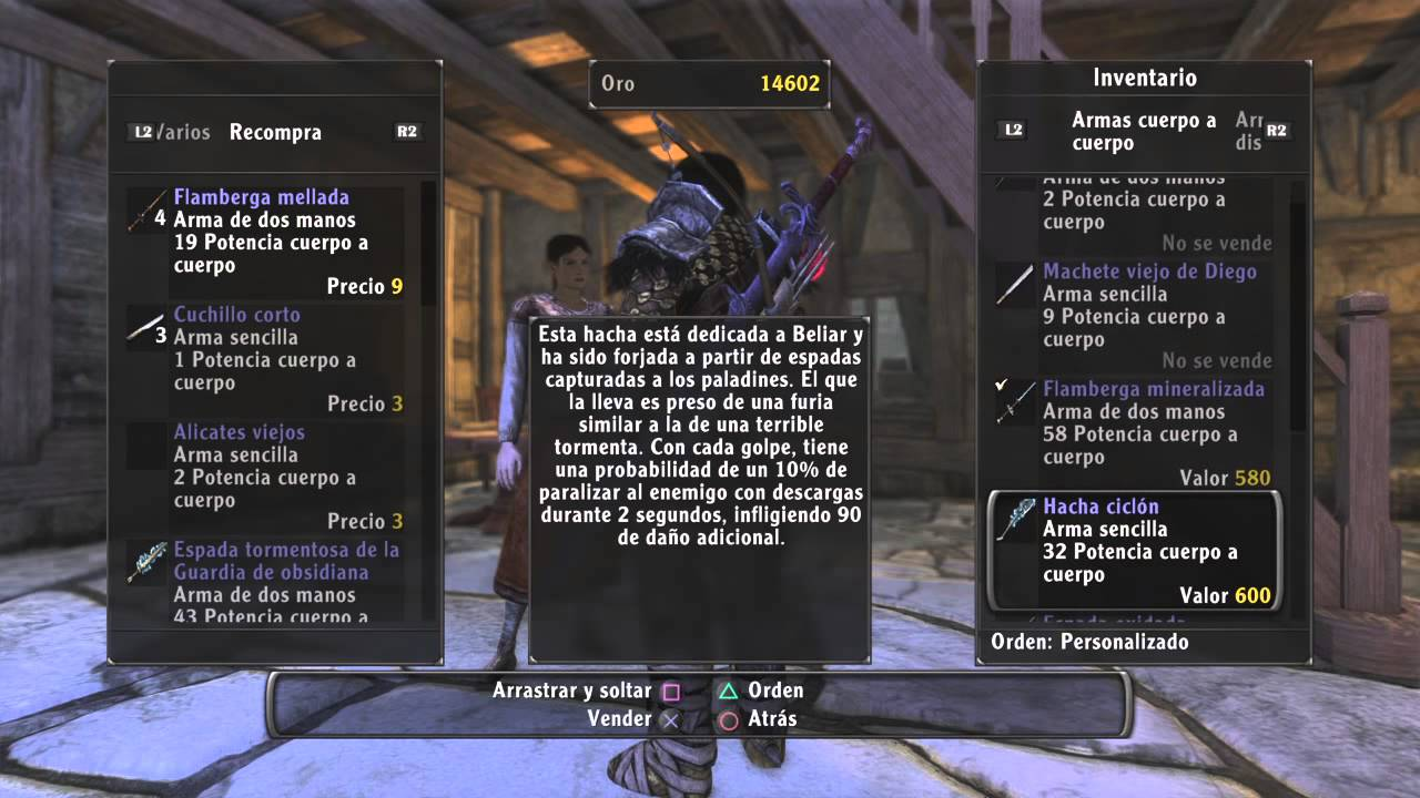 ArcaniA The Complete Tale inventario