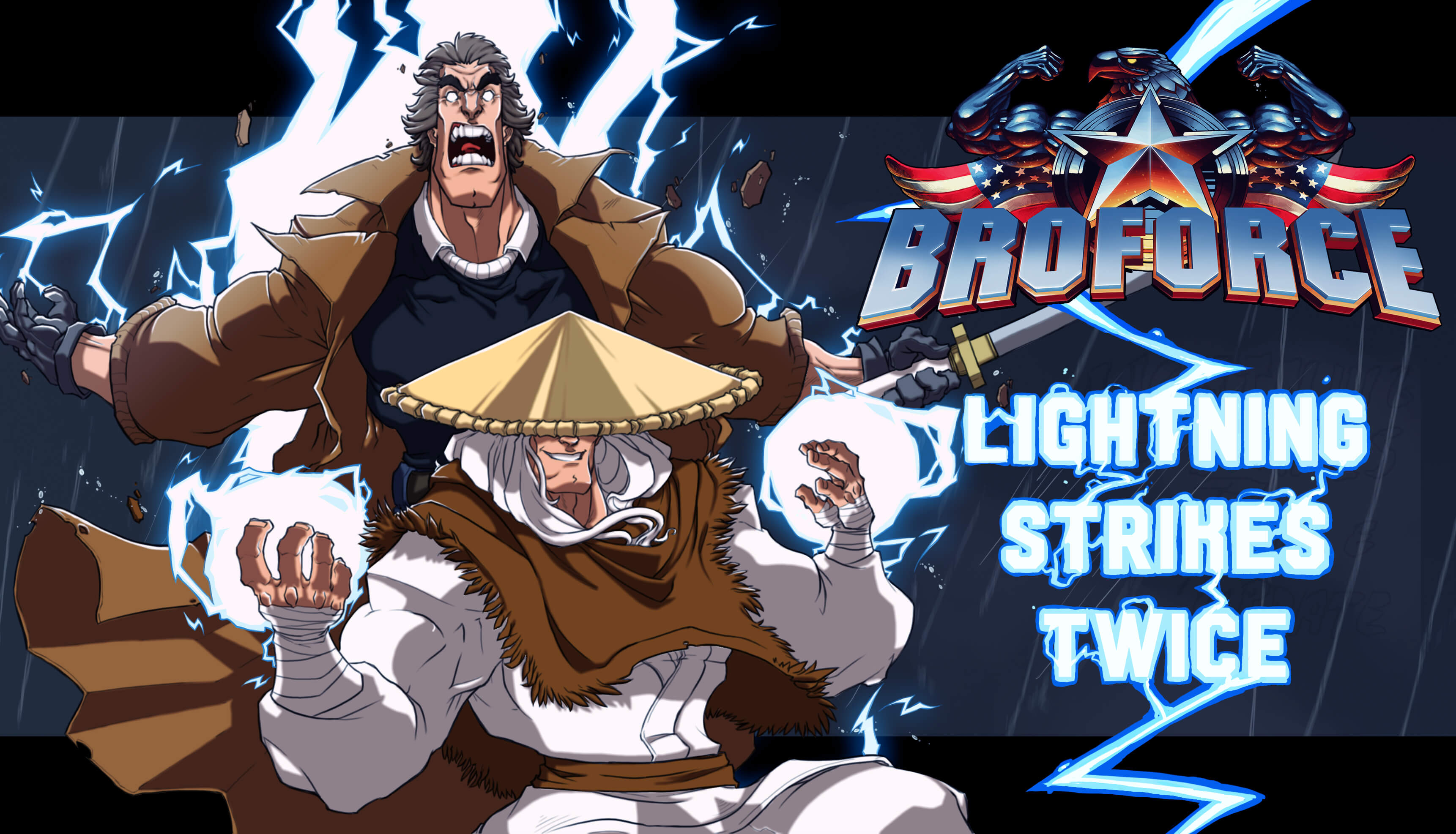 Broforce-Lightning-Strikes-Twice-Key-Art