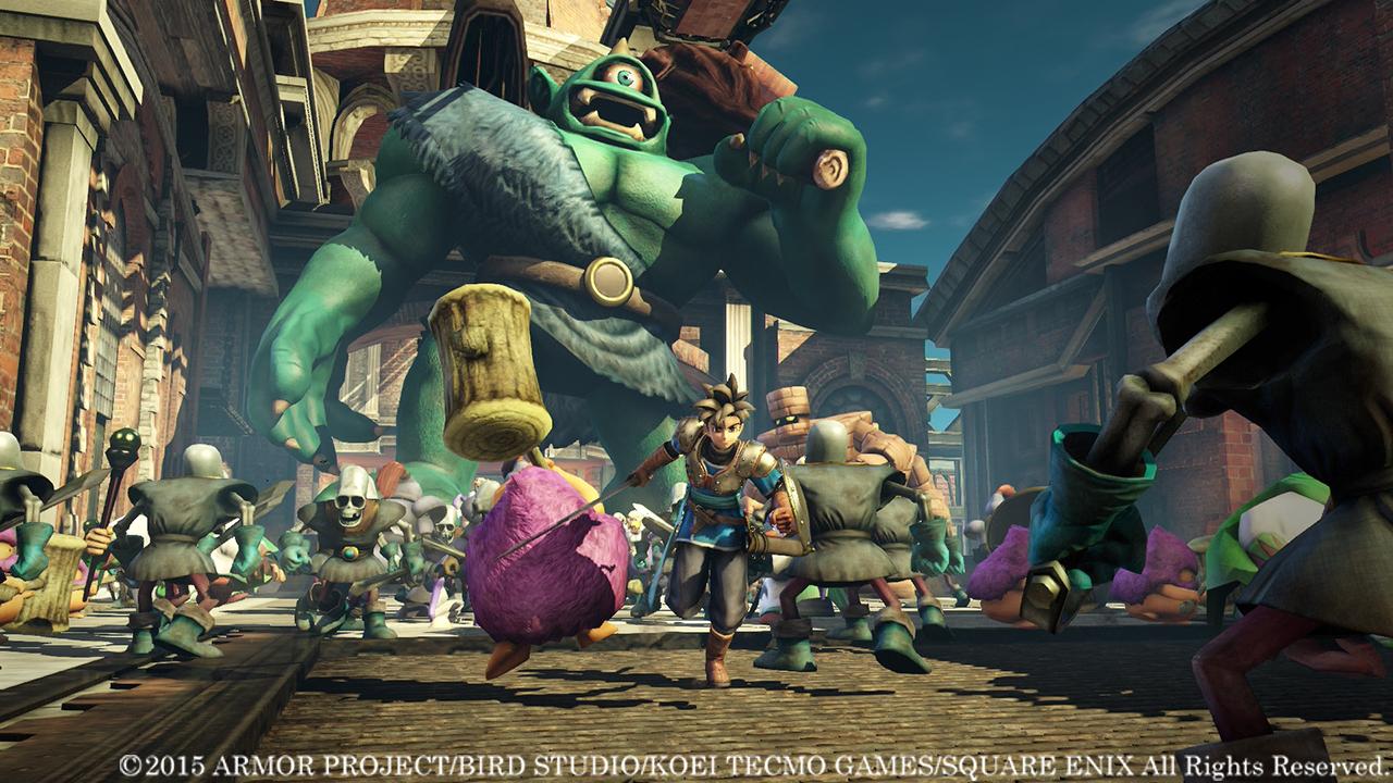 Dragon Quest Heroes L'Albero del Mondo e le Radici del Male dal mese prossimo su Pc