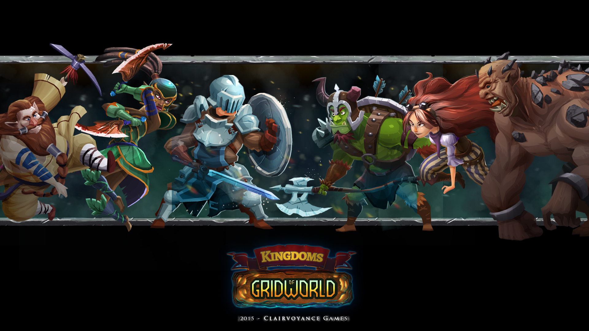 Kingdom of GridWorld header