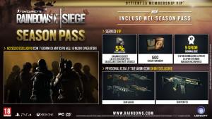 Tom Clancy's Rainbow Six Siege, ecco i contenuti del Season Pass