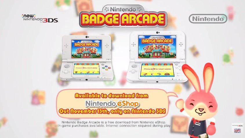 Nintendo Badge Arcade A