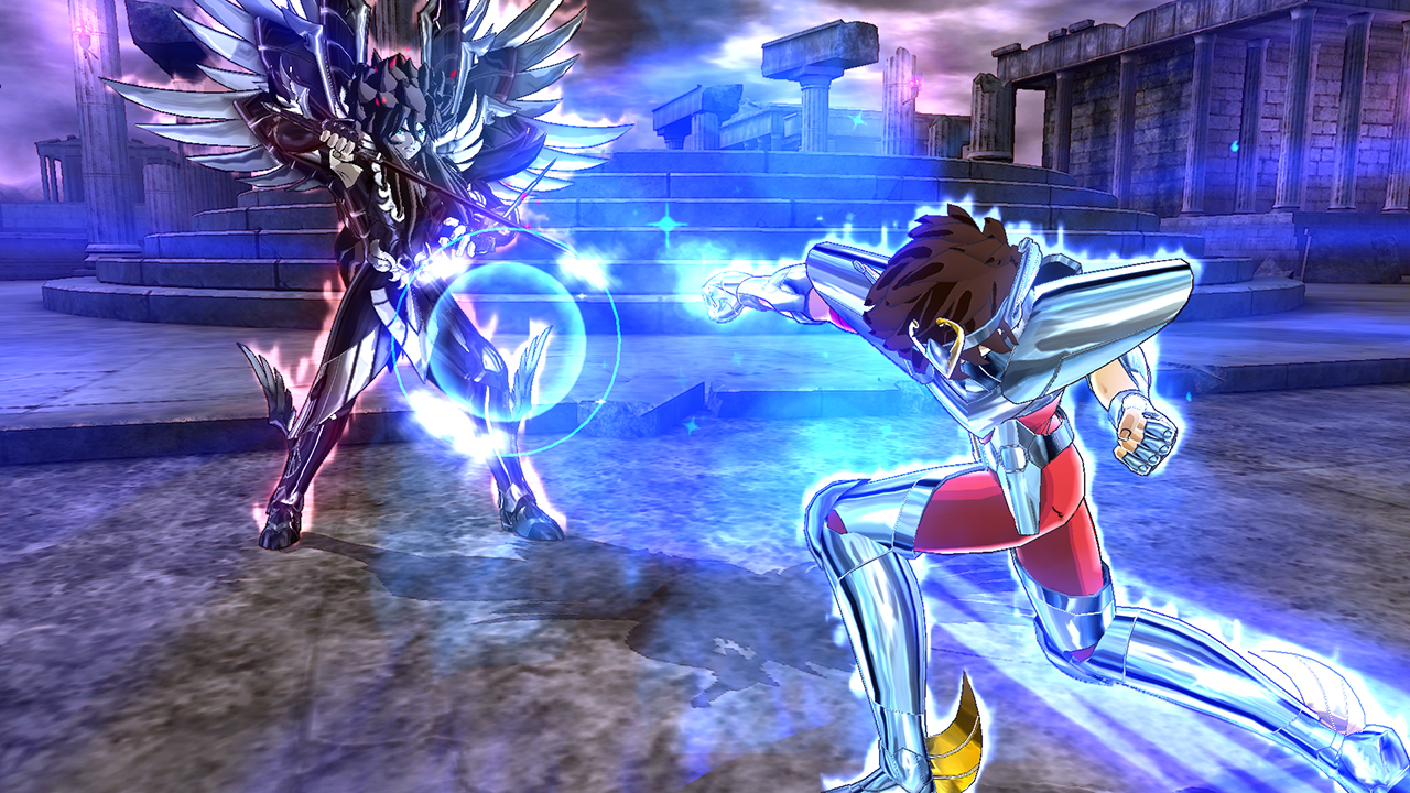 Saint Seiya Soldiers' Soul in game