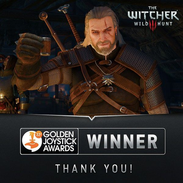 The Witcher 3 golden joystick awards 2015