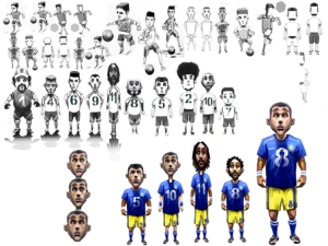 Maggiori dettagli su alcune modalità per Sociable Soccer da parte di Jon Hare