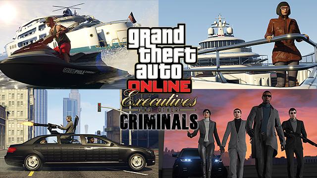 GTA Online dirigenti e altri criminali