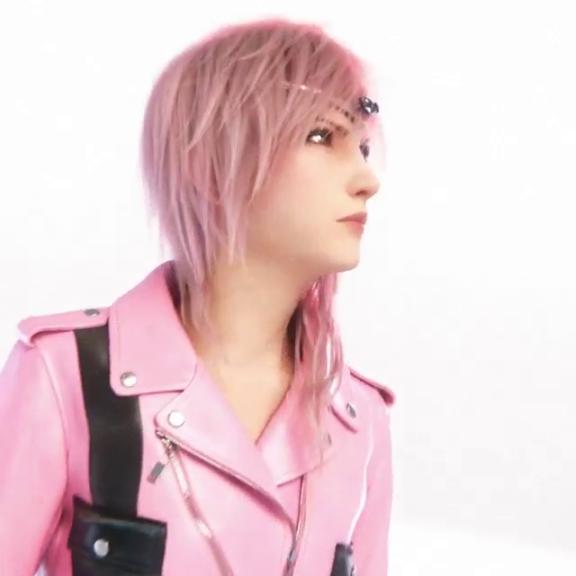 Lightning di Final Fantasy XIII diventa modella per Luis Vuitton