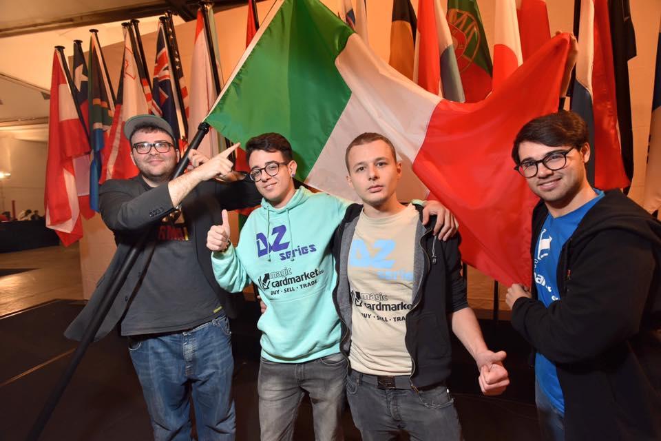 Magic the gathering Italia campione del mondo