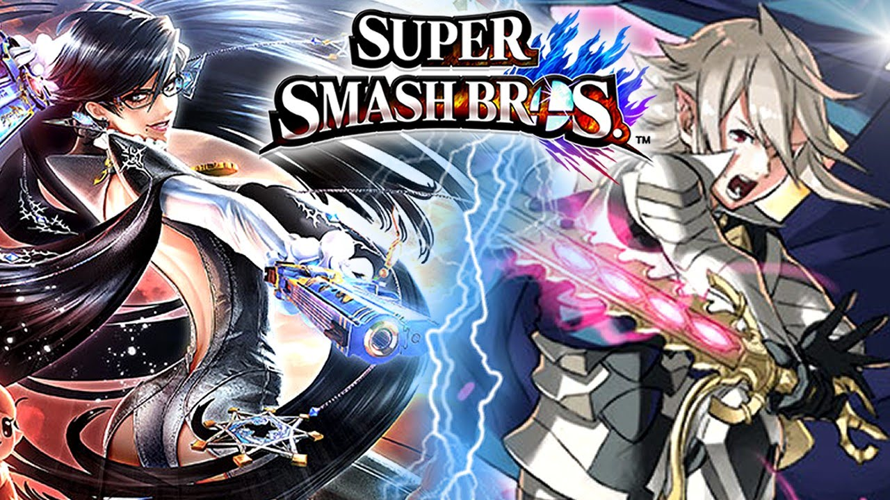 Super smash bros bayonetta e corrin