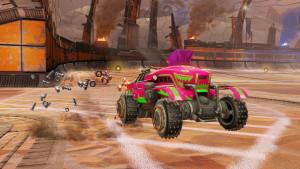 "Rocket League entra nelle Wasteland con il dlc ""Chaos Run"""