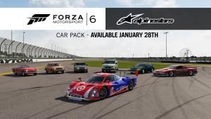 Forza Motorsport 6, arriva oggi l'AlpineStars Pack, trailer di presentazione