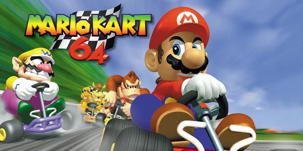 Mario Kart 64 su Virtual Console Wii U