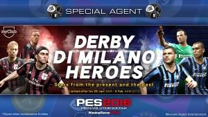 PES 2016, offerta myClub per il derby Milan-Inter