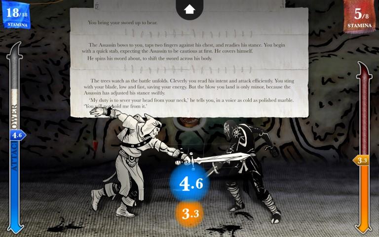 Steve Jacksons Sorcery ep 1 combattimento