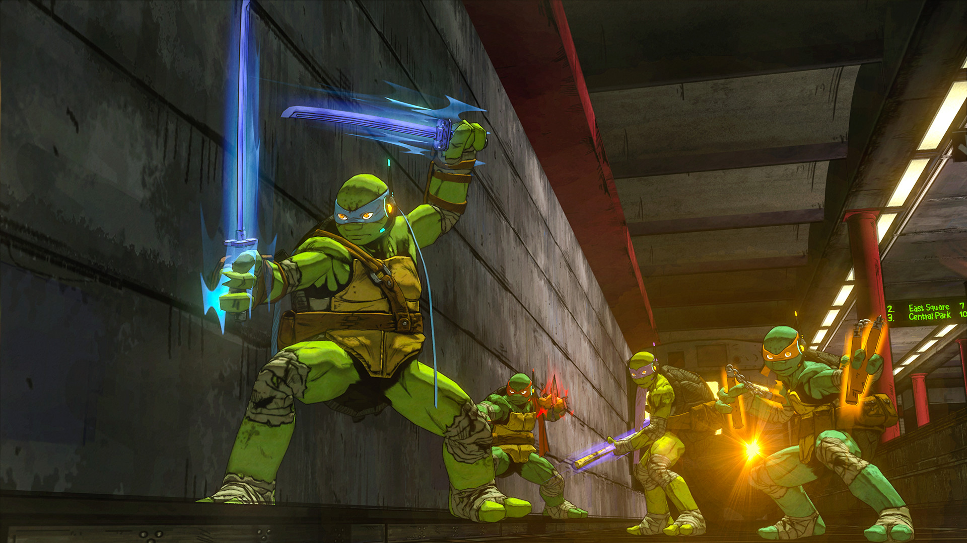 Teenage Mutant Ninja Turtles Mutants in Manhattan A