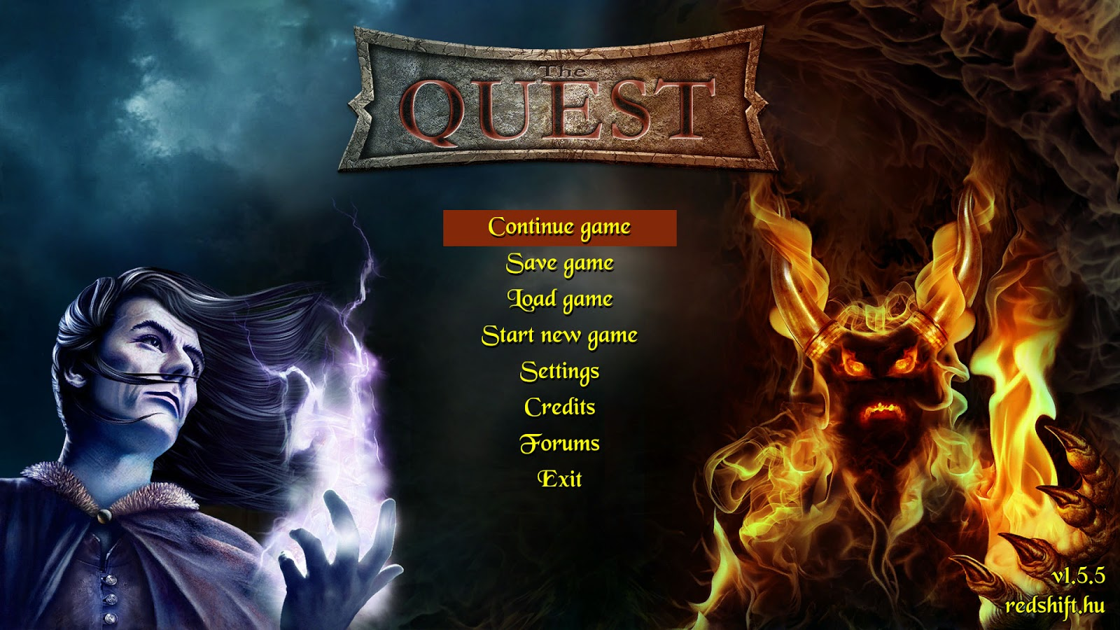 The_Quest_-title-screen