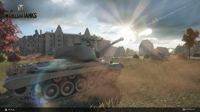 World of Tanks PS 4