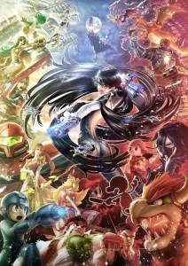 Super Smash Bros, Bayonetta e Corrin arriveranno il 4 febbraio, video