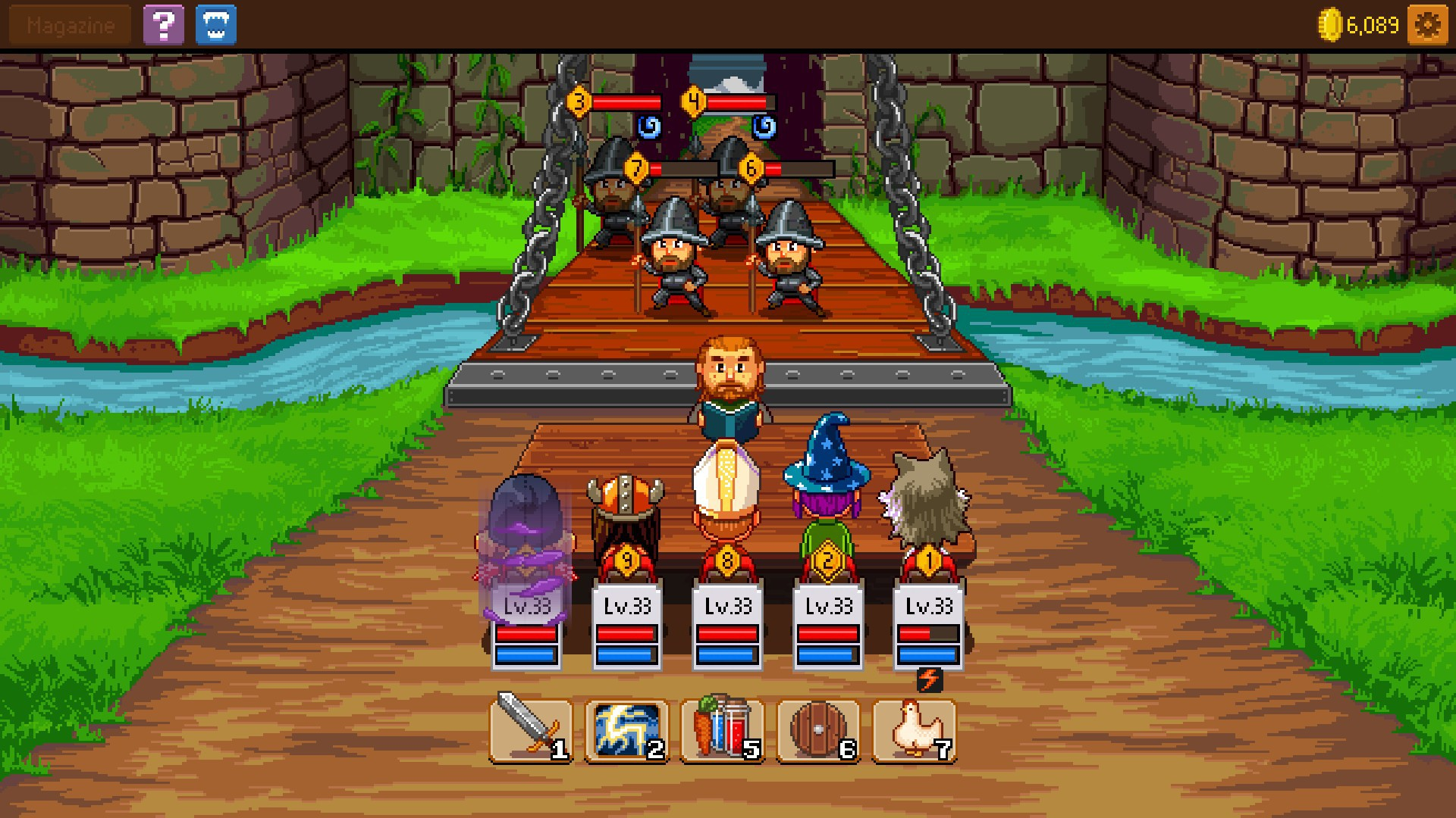 knights of pen and paper 2 here be dragons