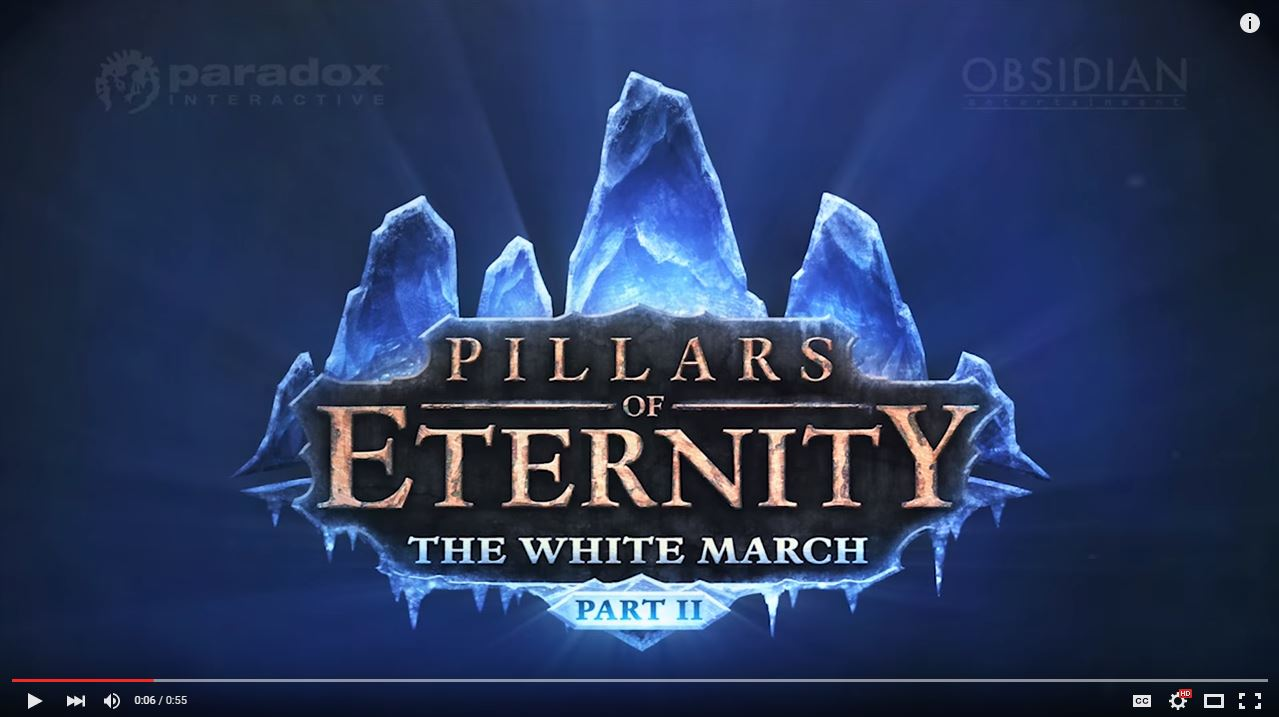 pillars of eternity the white march
