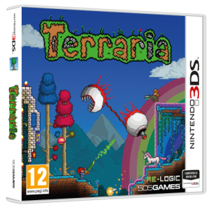 La versione fisica di Terraria approda su Nintendo 3DS, dettagli