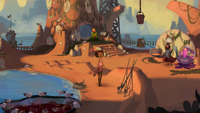 Broken Age Apple TV