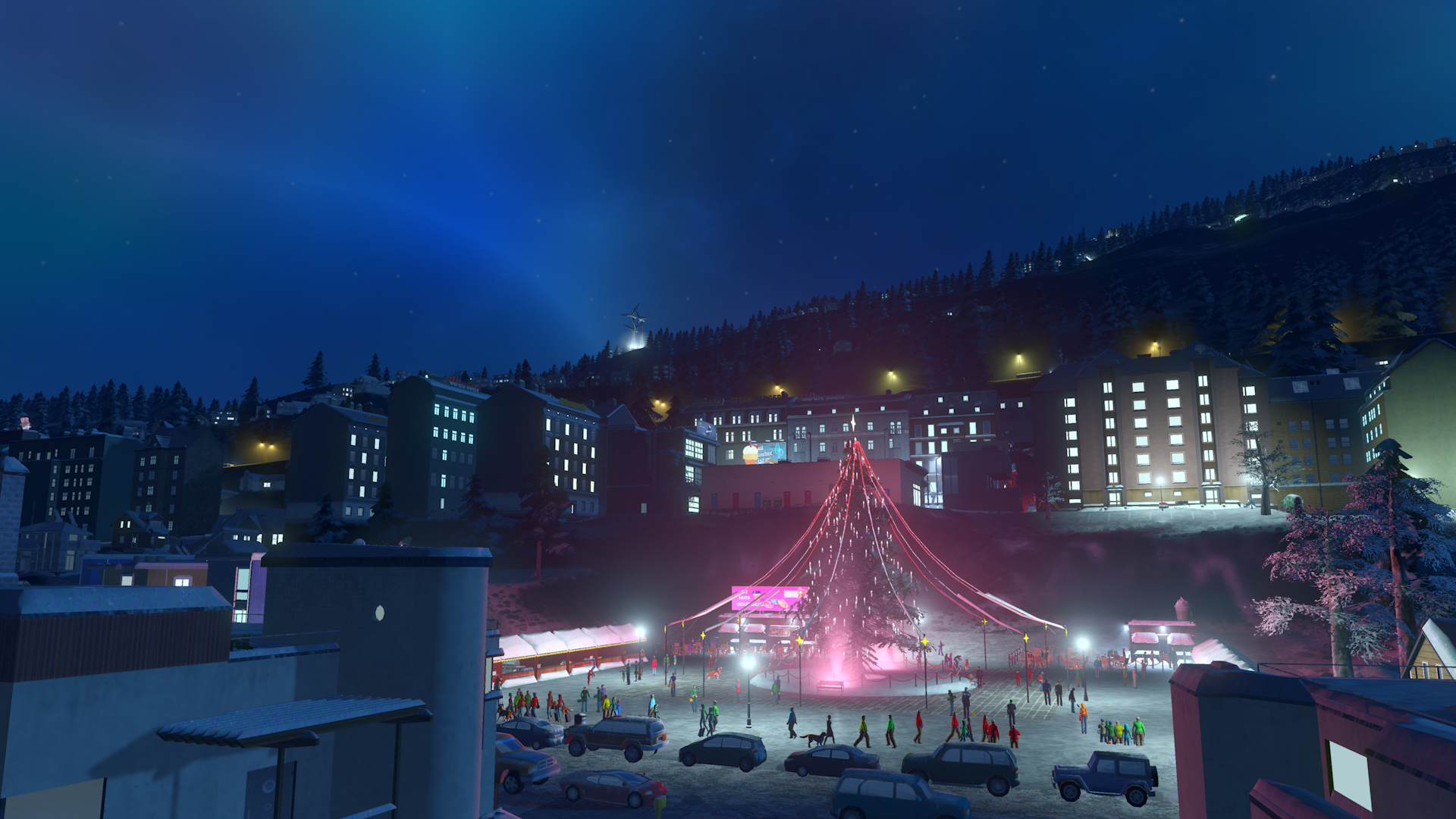 Cities Skylines Snowfall 2