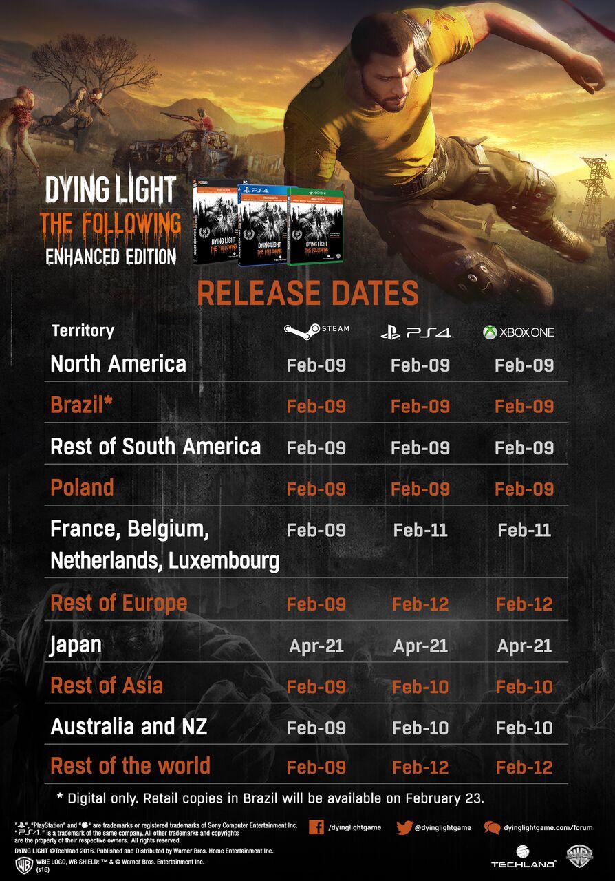 Dying Light data di lancio