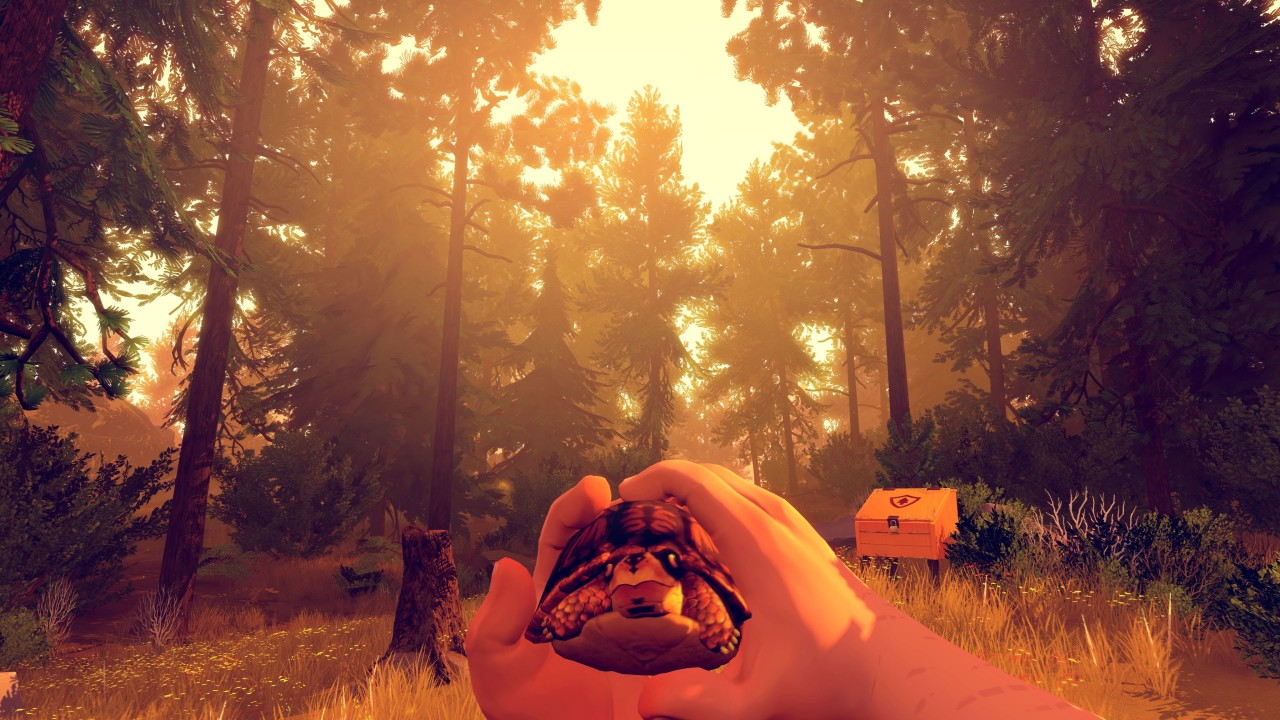 Firewatch in game